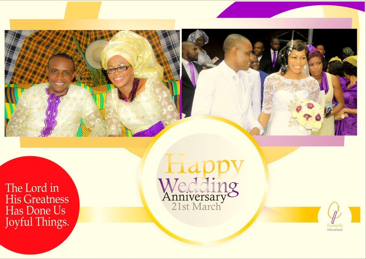 Happy Wedding Anniversary MyLove!
