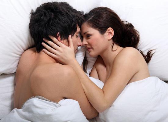 Husband Wife Making Love